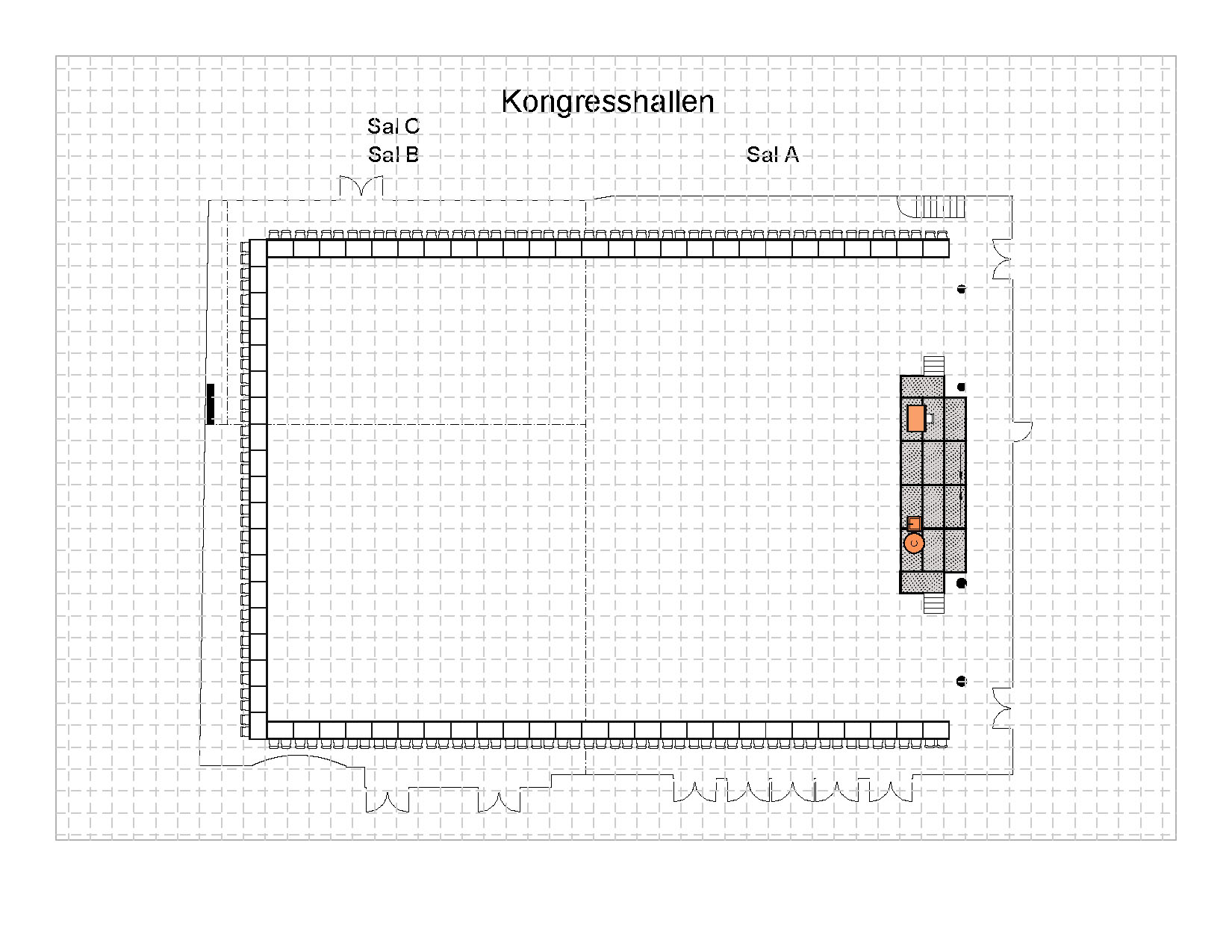 U - Bord 142 plasser