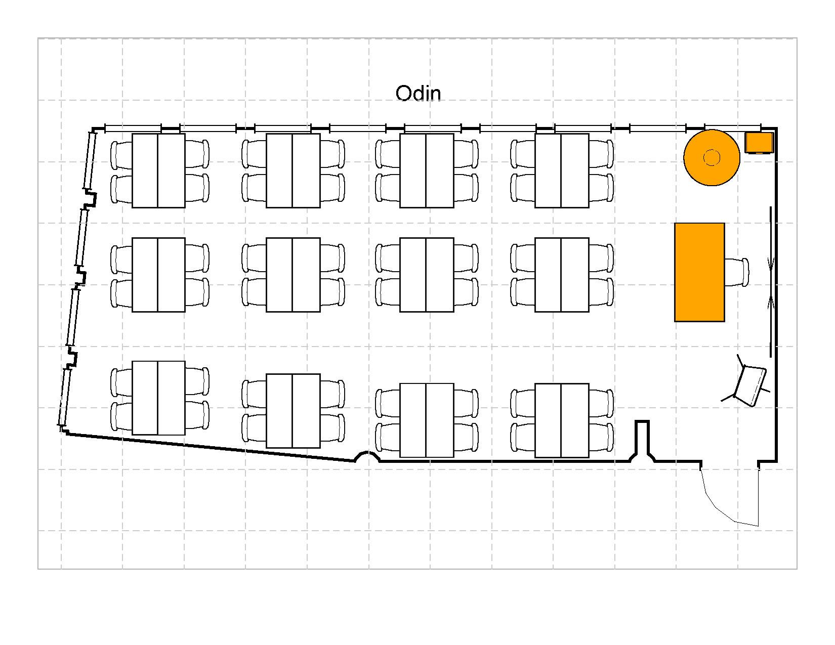 Gruppebord 48 plasser