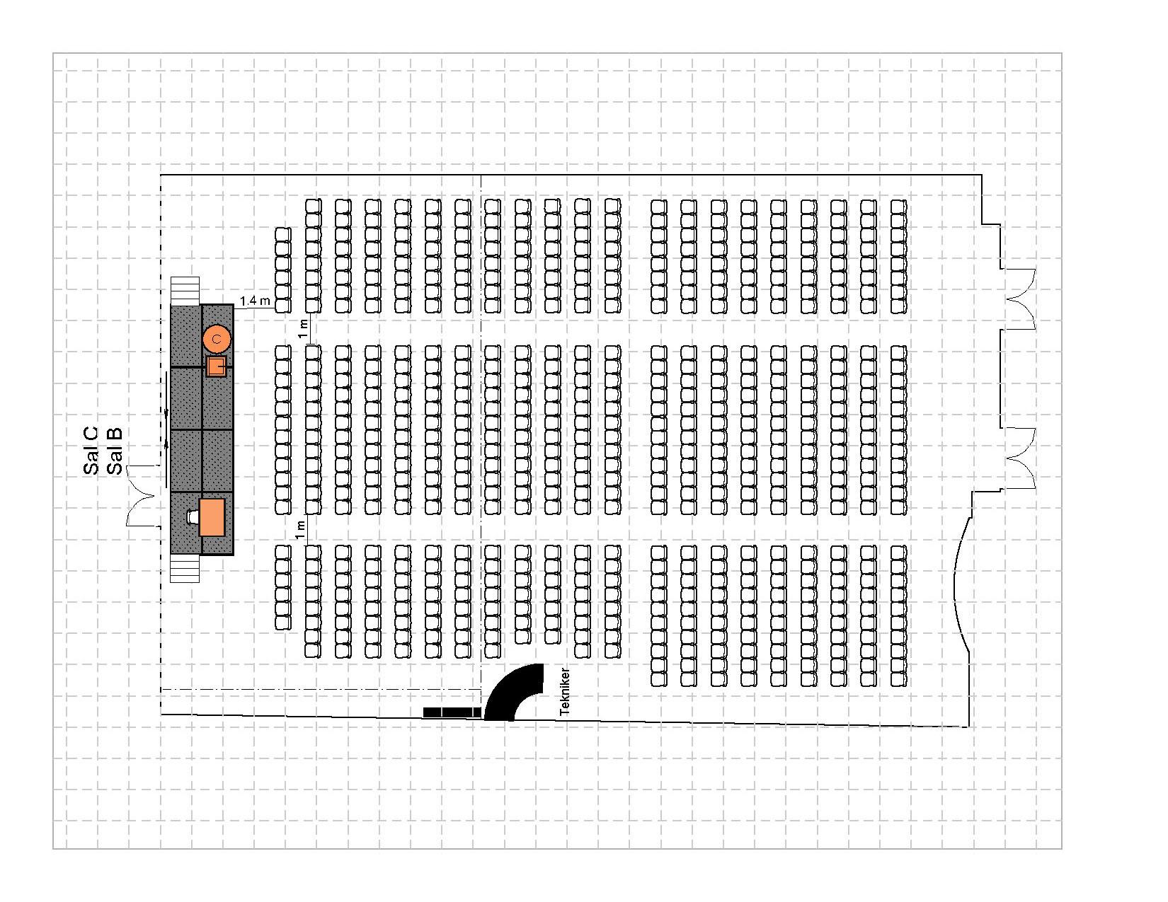 Kino 600 plasser