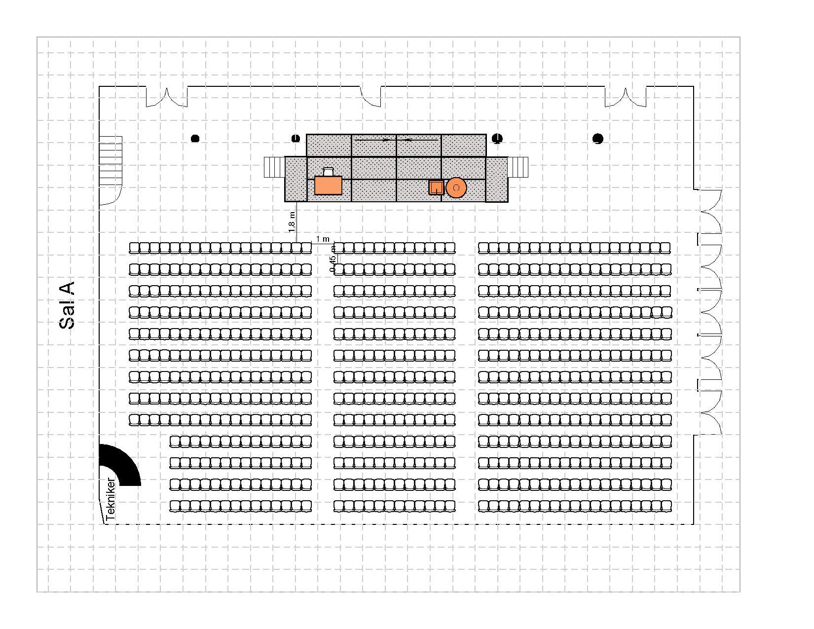 Kino 621 plasser