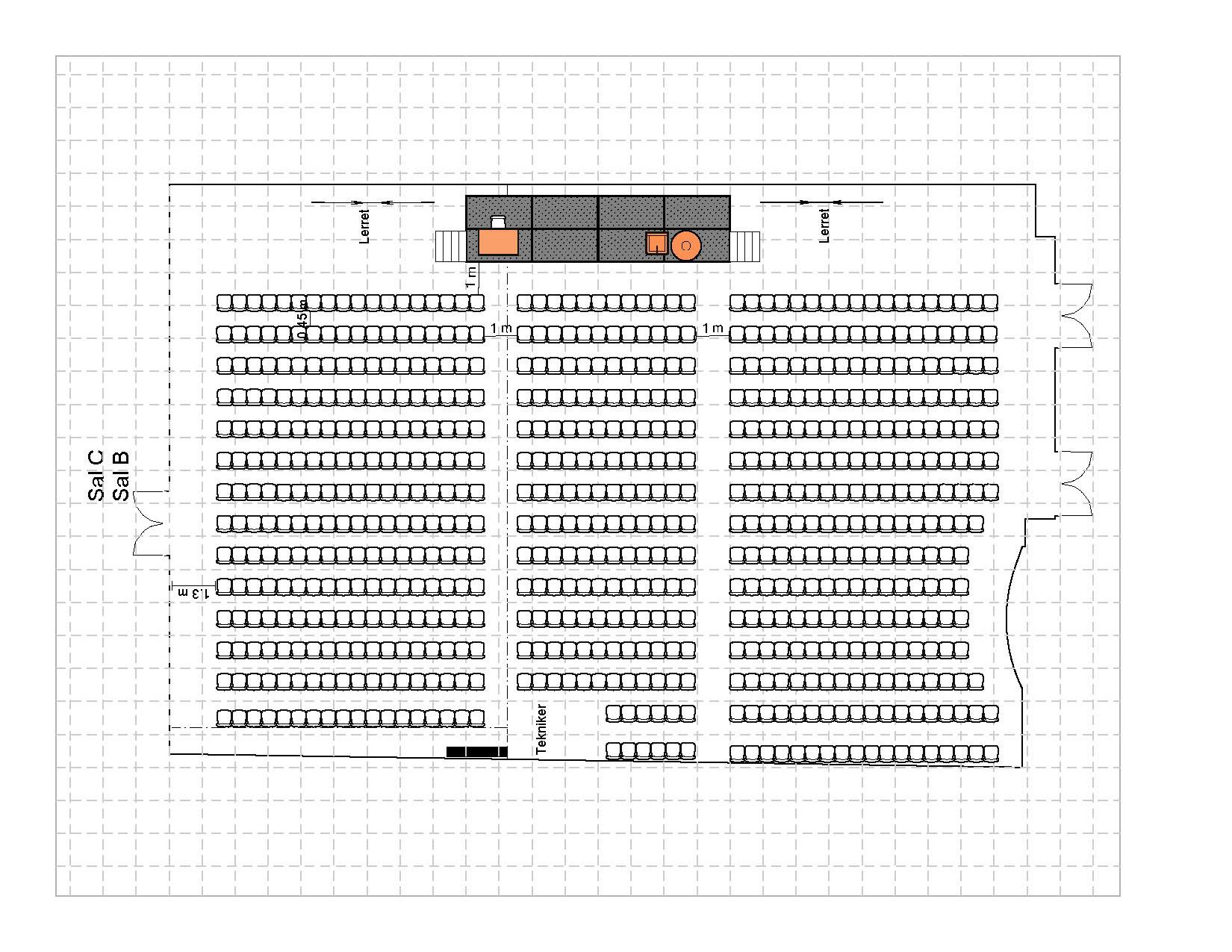 Kino 680 plasser