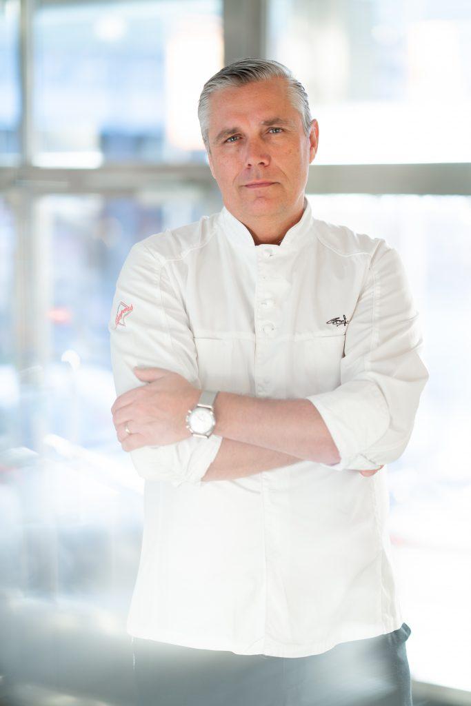Portrett av kokk. Foto.