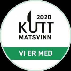 Sertifiseringsmerke KuttMatsvinn2020. Foto.